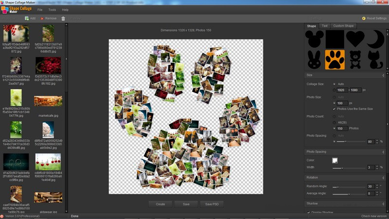 Download shape collage.